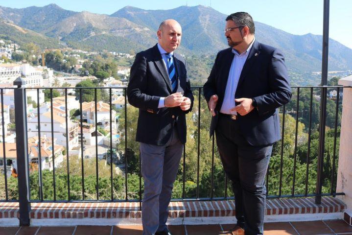 Francisco Conejo y José Antonio González en foto de archivo